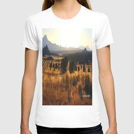 Sawtooth Mountains - New Mexico T-shirt