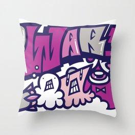 反戦争 - NO WAR  Throw Pillow