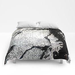 Poetic Texture II Comforters