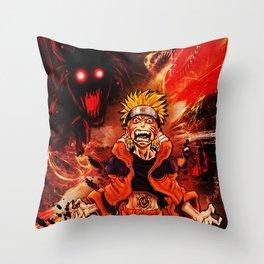uzumaki Throw Pillow