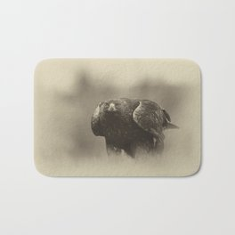 Vintage Golden Eagle Bath Mat