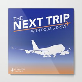 The Next Trip (New Logo) Metal Print
