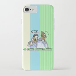 The Amazing Psych-Man & The Magic-Head - Psych quotes iPhone Case
