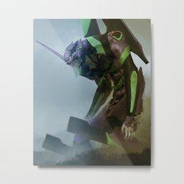 EVA Unit 01 Metal Print
