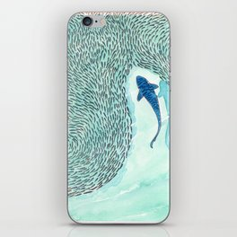 Tiger Shark Hunting iPhone Skin