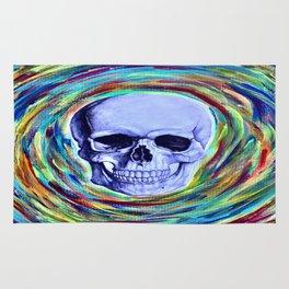 A Skull's Vortex Rug