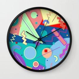 Memphis #55 Wall Clock