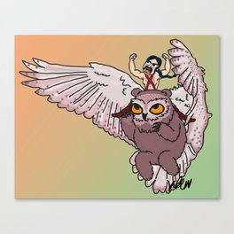 Owlbear Canvas Print