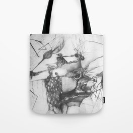 Sci-fi bug cancer treatment Tote Bag