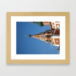 Belfry, Yaroslavl Framed Art Print