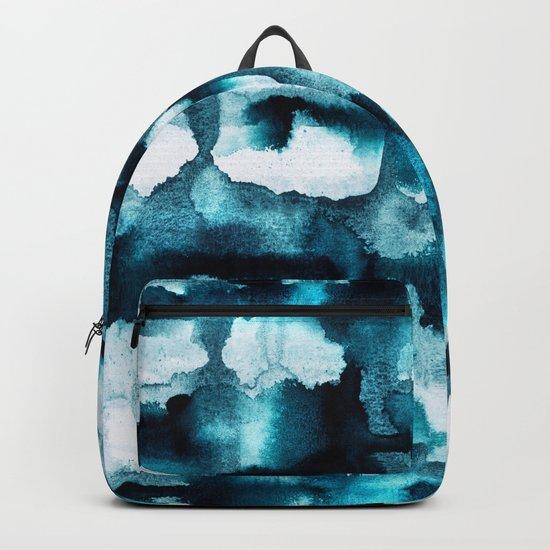 Watercolor 03 - Wild Sea Backpack