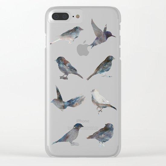 Sparrow Catalog Clear iPhone Case