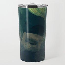 The mermaid and the sailor Travel Mug