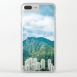 Under the Lion Rock Clear iPhone Case