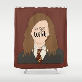 That Witch, Hermione Shower Curtain