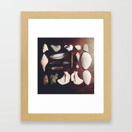 Collected Treasures Framed Art Print