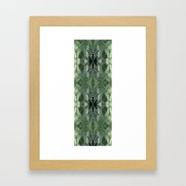 Bronx Botanical Garden Green Ferns Framed Art Print