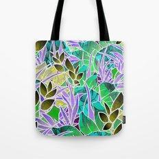 Floral Abstract Artwork G127 Tote Bag