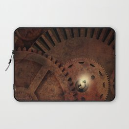The Man in the Machine - A Steampunk Fantasy Laptop Sleeve
