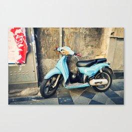 Naples Ride Canvas Print