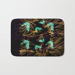 Corals and Crustaceans Burst Bath Mat