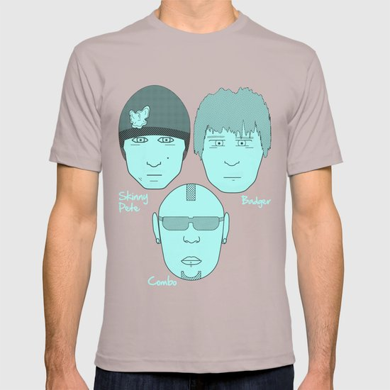 Breaking Bad - Faces - The Crew T-shirt