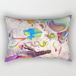 Eyes Wide Open Rectangular Pillow