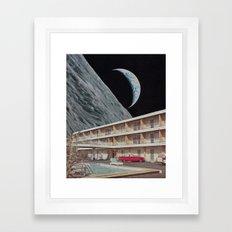 The Edge Motel Framed Art Print