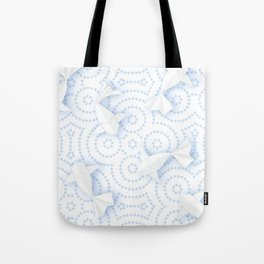 Origami Koi Fishes (Porcelain Version) Tote Bag