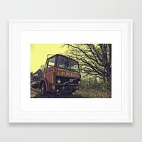 truck Framed Art Prints featuring truck by idolmindzmedia