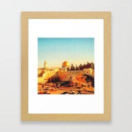 Old City of Jerusalem, 2004 Framed Art Print