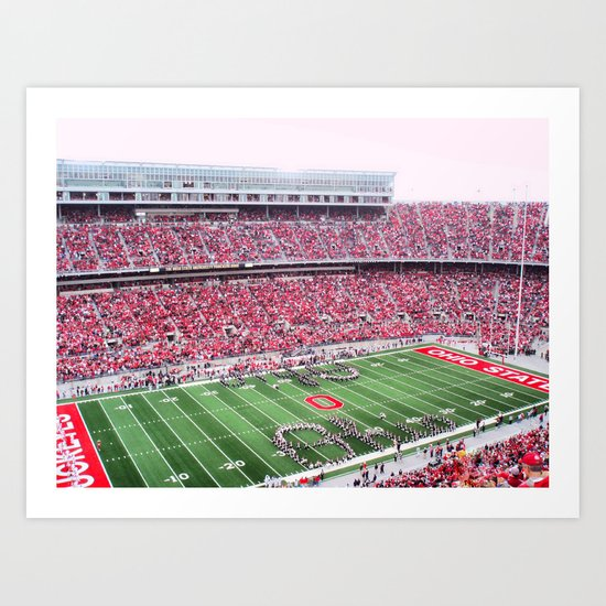 GO BUCKS!  Art Print