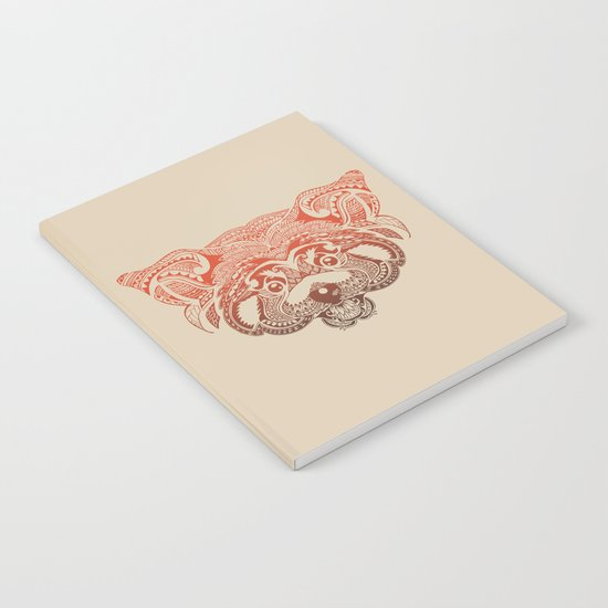 Polynesian Red Panda Notebook