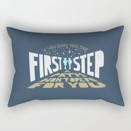 February Eighteen Rectangular Pillow