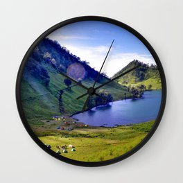 Paradise Valley (Color) Wall Clock