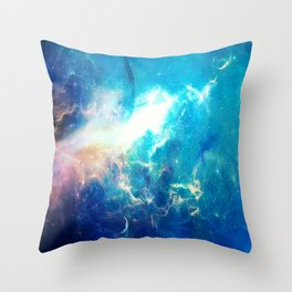Stars Painter Throw Pillow