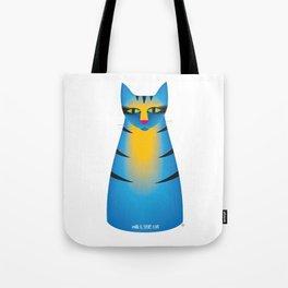 milk bottle cat : Terry Tote Bag