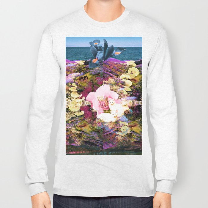 The Collection of Questions I Brought to the Sea Long Sleeve T-shirt