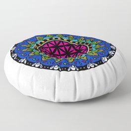 Colourful Mandala Floor Pillow