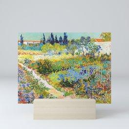 12,000pixel-500dpi - Vincent van Gogh - Garden At Arles, Flowering Garden With Path Mini Art Print