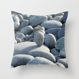 Stone on stone Throw Pillow