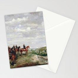 Jean-Louis Ernest Meissonier - L'Empereur a la bataille de Solferino Stationery Cards