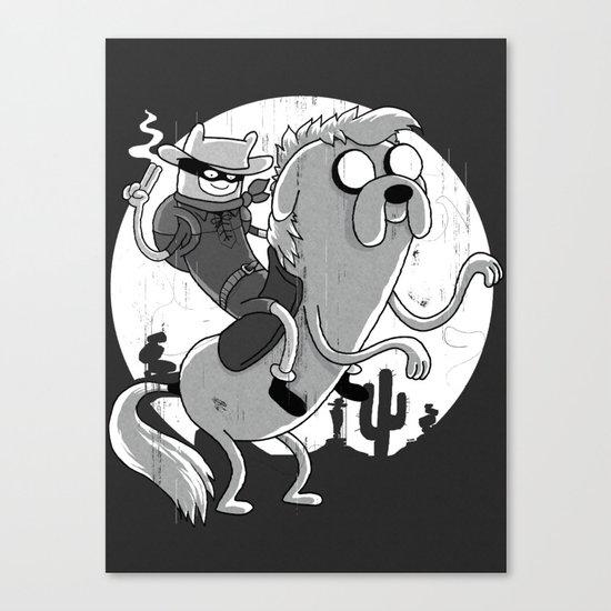 Lone Ranger Time! Canvas Print