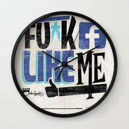 Like Me Wall Clock