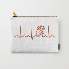 Psychiatrist Heartbeat Carry-All Pouch