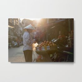 Vietnam Streets Metal Print
