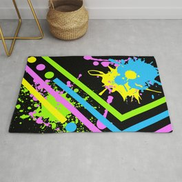 Dot Dash Splash Rug