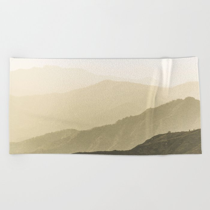 Cali Hills Beach Towel