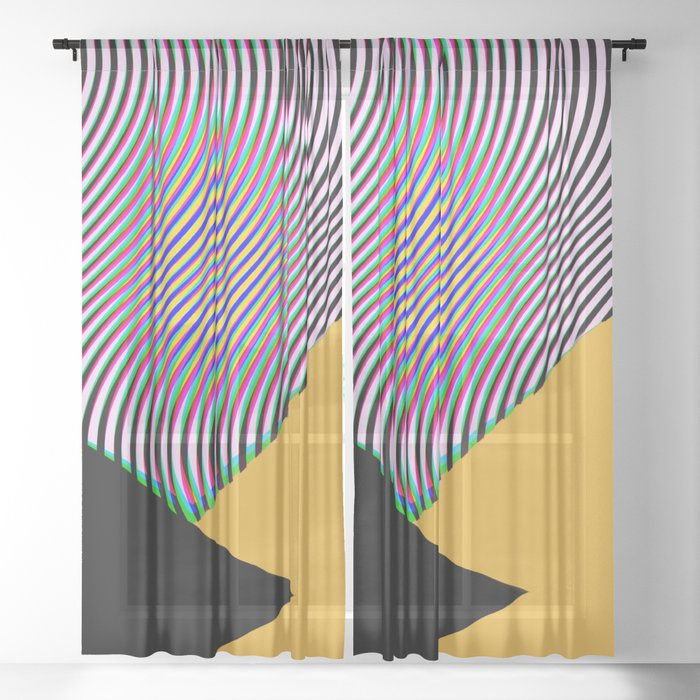LCDLSD Sheer Curtain