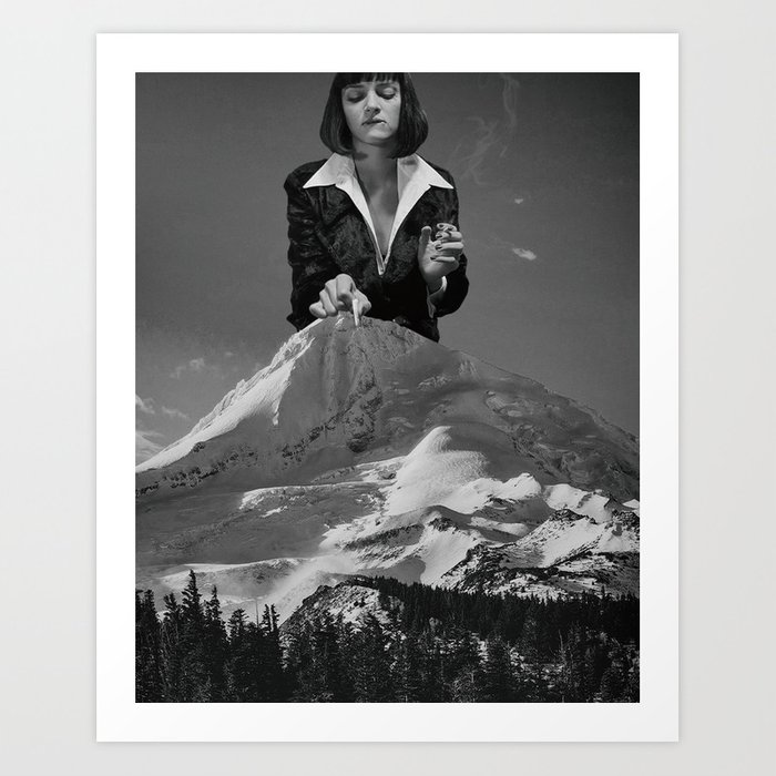 Uma Thurman - Pulp Fiction Kunstdrucke